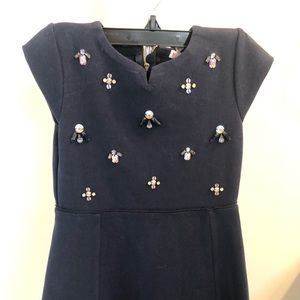 Crewcuts navy dress size 6